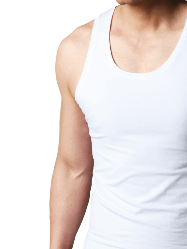 sous-vêtements pour homme t-shirt boxeur caleçon débardeur en coton 100% Crin Blanc Algérie